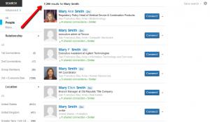Mary Smith on LinkedIn